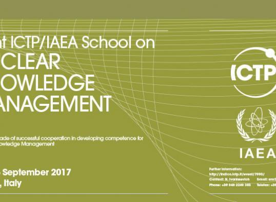 escuela gestion conocimiento nuclear 2017